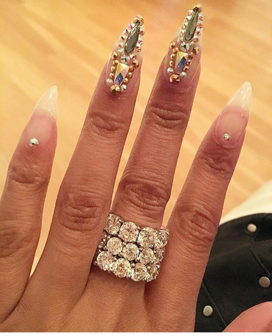 15 Celebrity Stiletto Nail Designs That Are Totally On Point – My ...